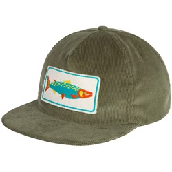 Mollusk Salmon Patch Corduroy Hat