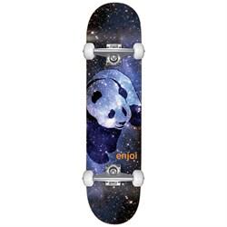 Enjoi Cosmos Panda Resin Soft Wheel 7.75 Skateboard Complete