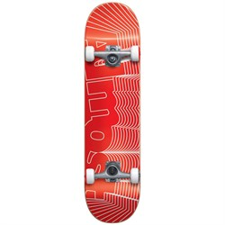 Almost Unknown Pleasures First Push Red 7.75 Skateboard Complete