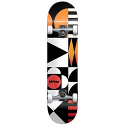 Almost Geometrix Premium Orange​/Red 8.0 Skateboard Complete