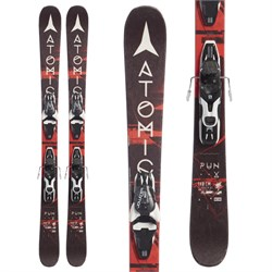 Atomic Punx Jr III Skis ​+ Look T4 Bindings - Boys'  - Used