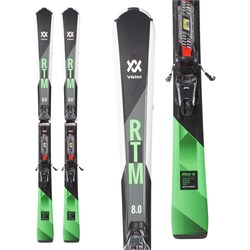 Volkl RTM 8.0 Skis ​+ FDT TP 10 Bindings  - Used