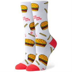 Stance Fries B4 Guys Crew Socks - Women's