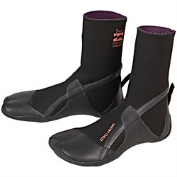 Billabong 3mm Furnace Synergy Split Toe Wetsuit Boots - Women's