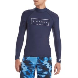 Billabong Union Performance Fit Long Sleeve Rashguard