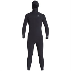 Billabong 4​/3 Furnace Comp Chest Zip Hooded Wetsuit