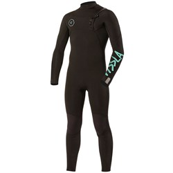 Vissla 4​/3 7 Seas Chest Zip Wetsuit - Boys'