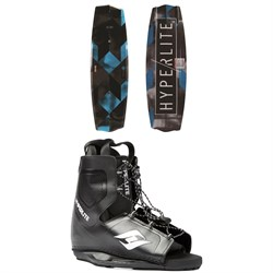 Hyperlite State 2.0 Wakeboard ​+ Frequency Wakeboard Bindings 2019