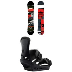 Rome Mechanic Snowboard 2018 ​+ Burton Custom Snowboard Bindings