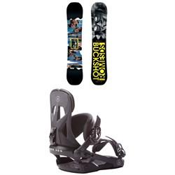 Rome Buckshot Snowboard 2017 + Rome Arsenal Snowboard Bindings