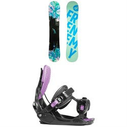 Rossignol Frenemy Snowboard - Women's + Flow Haylo Snowboard Bindings - Women's 2019
