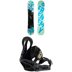 Rossignol Frenemy Snowboard - Women's ​+ Burton Citizen Snowboard Bindings - Women's