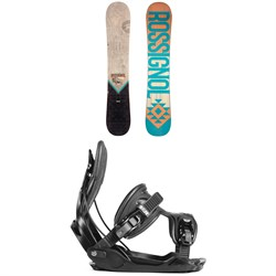 Rossignol Templar Snowboard + Flow Alpha Snowboard Bindings