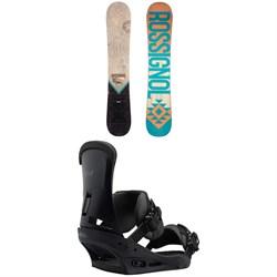 Rossignol Templar Snowboard + Burton Custom Snowboard Bindings 2019
