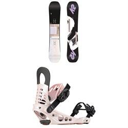 K2 Lime Lite Snowboard - Women's + K2 Meridian Snowboard Bindings - Women's
