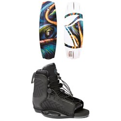 Liquid Force Trip Wakeboard ​+ Hyperlite Remix Wakeboard Bindings