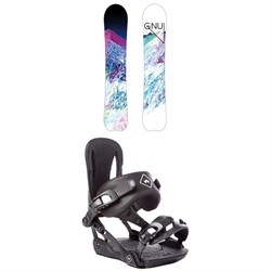 GNU Chromatic BTX Snowboard - Women's  ​+ Rome Strut Snowboard Bindings - Women's 2018