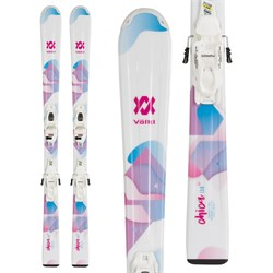 Volkl Chica Skis ​+ 4.5 vMotion Jr Bindings - Girls' 2020