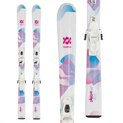 Volkl Chica Skis ​+ 7.0 vMotion Jr Bindings - Girls' 2020