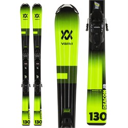 Volkl Deacon Junior Skis ​+ 4.5 vMotion Jr Bindings - Little Boys'