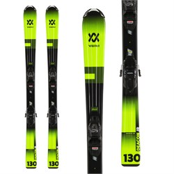 Volkl Deacon Junior Skis ​+ 7.0 vMotion Jr Bindings - Big Boys' 2020