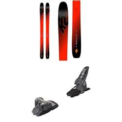 K2 Pinnacle 105 Ti Skis 2019 + Marker Griffon Ski Bindings 2016
