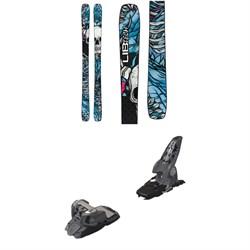 Lib Tech Backwards Skis 2019 + Marker Griffon Ski Bindings 2016