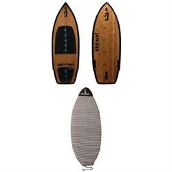 Idol Surf Tonka Kahuna LTE Wakesurf Board + Wakesurf Board Sock 2019