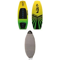 Idol Surf Shovel Wakesurf Board + Wakesurf Board Sock 2019