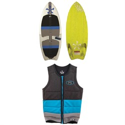 Phase Five Fang Wakesurf Board ​+ Mens Pro Wakesurf Vest