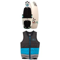 Phase Five Venom Wakesurf Board + Mens Pro Wakesurf Vest