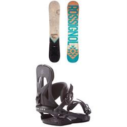 Rossignol Templar Snowboard 2019 + Rome Arsenal Snowboard Bindings 2018
