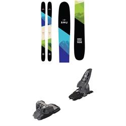 RMU North Shore 108 Wood Skis 2019 + Marker Griffon Ski Bindings 2016