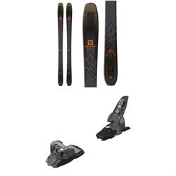 Salomon QST 92 Skis  + Marker Griffon Ski Bindings 2016