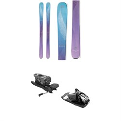 Blizzard Black Pearl 88 Skis - Women's ​+ Look NX 12 Dual Ski Bindings