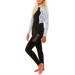 Sisstrevolution 3/2 7 Seas Print Wetsuit - Girls'