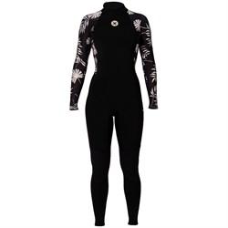 SISSTR 3/2 7 Seas Print Back Zip Wetsuit - Women's