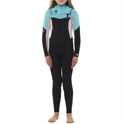 Sisstrevolution 3​/2 7 Seas Chest Zip Wetsuit - Girls'