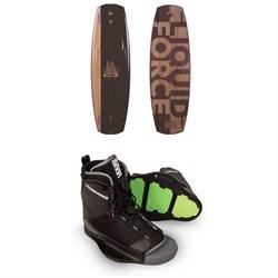 Liquid Force Timba Wakeboard + Transit Wakeboard Bindings