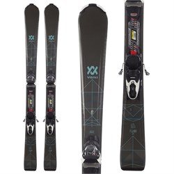 Volkl Flair 8.0 Skis ​+ FDT 10.0 TP Bindings - Women's