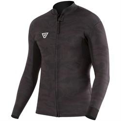 Vissla 2mm Camo Front Zip Wetsuit Jacket