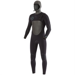 Vissla 5.5/4.5 North Seas Chest Zip Hooded Wetsuit