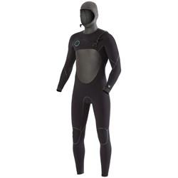 Vissla North Seas 5/4/3 Chest Zip Hooded Wetsuit