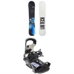 Lib Tech Terrain Wrecker C2X Snowboard 2019 + Bent Metal Logic Snowboard Bindings 2019