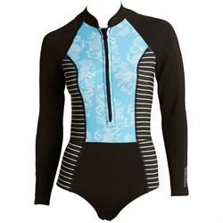 Amuse Society Grazie Cheeky Long Sleeve Springsuit - Women's