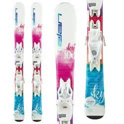 Elan Sky QS Skis ​+ EL 4.5 Bindings - Little Girls'