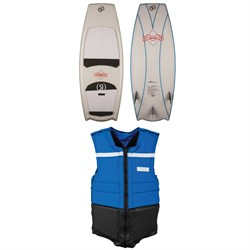 Ronix Potbelly Cruiser Naked Wakesurf Board ​+ Parks Athletic Cut Impact Vest