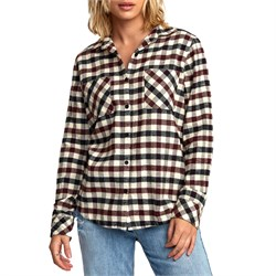 RVCA Aspen Plaid Flannel Shirt - Women's
