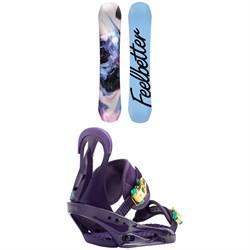 Bataleon Feelbetter Snowboard - Women's + Burton Citizen Snowboard Bindings - Women's 2019