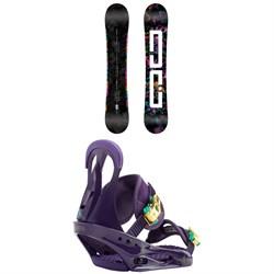 DC Biddy Snowboard - Women's + Burton Citizen Snowboard Bindings - Women's 2019